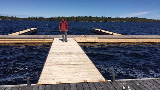 New docks in place